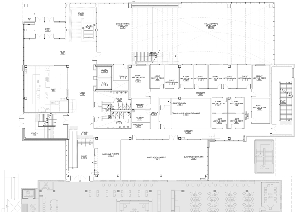TLC – Ground-Level Floor Plan