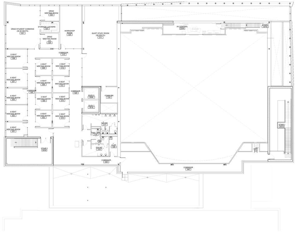 TLC – Third-Level Floor Plan
